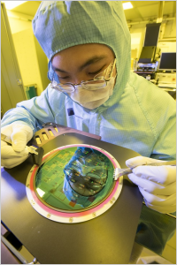 Nanotechnology research in the University's cleanrooms
