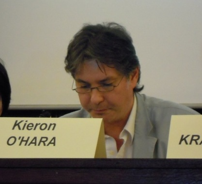 Photograph of Dr Kieron O'Hara