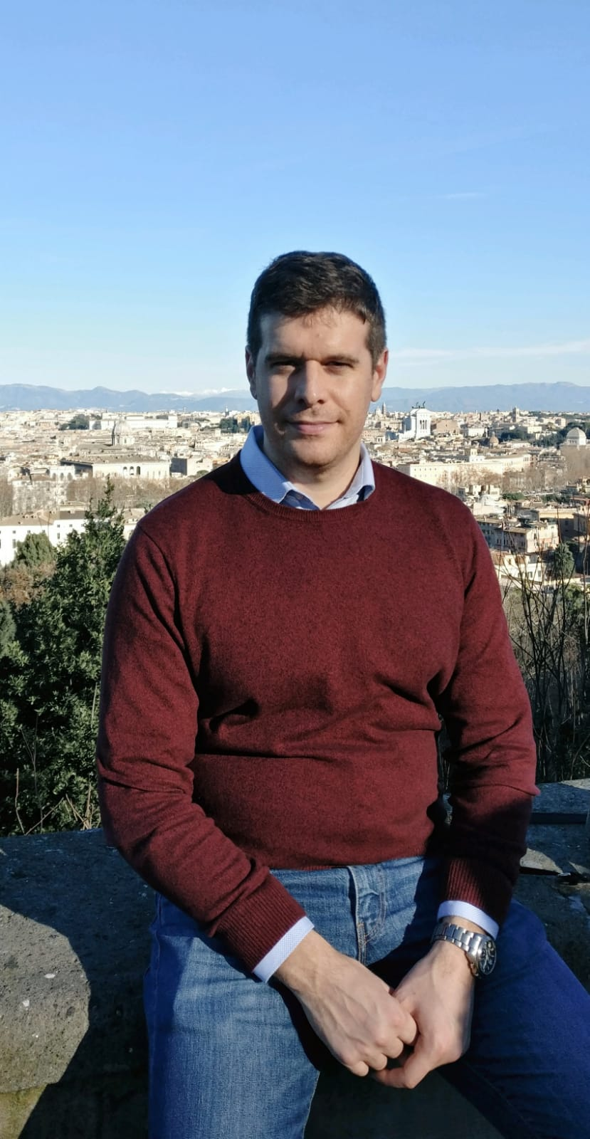 Photograph of Dr Andrea Margheri
