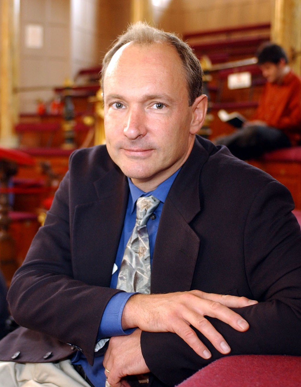 Photograph of Sir Professor Tim Berners-Lee