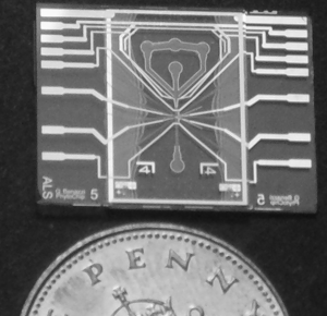 Flow cytometry's chip for the actual system